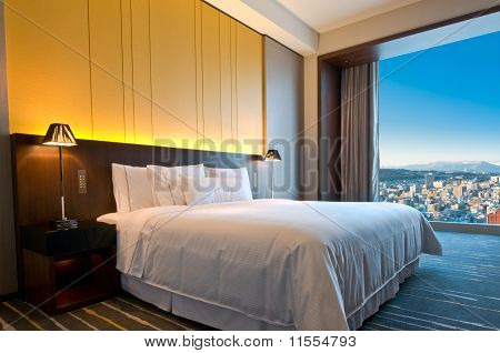 Penthouse Room On A Sunny Day