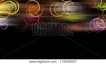 Fantastic And Elegant Circle Background Design Illustration