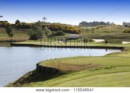 Golf Course At The Golf French Open 2015