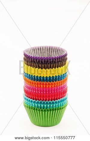 Colourful Baking Cases