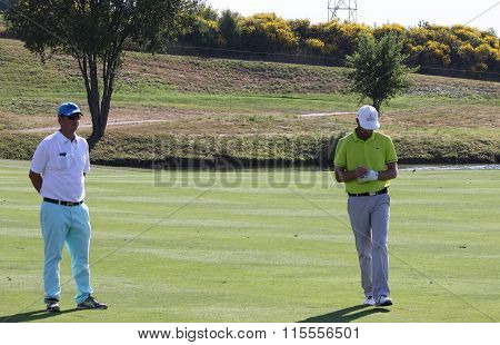Xavier Poncelet At The Golf French Open 2015