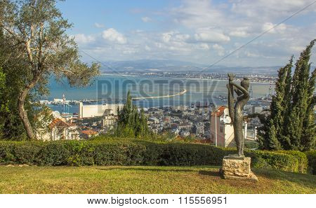 Haifa's park, Downtown and Bay
