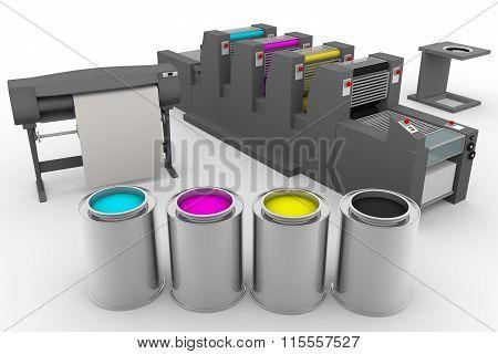 Cmyk Print Production Process