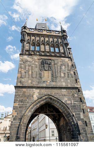 Tower Of Charles Bridge - Prague