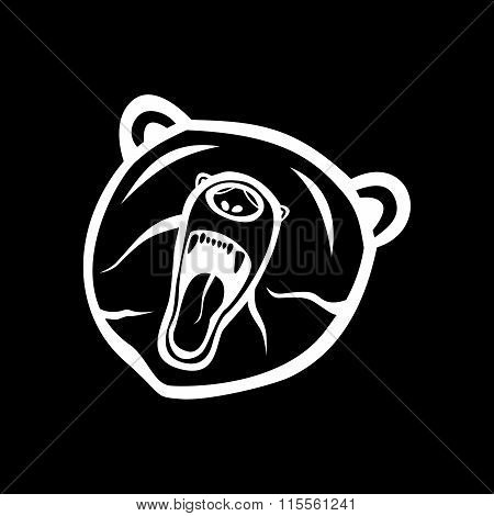 The Bear Silhouette