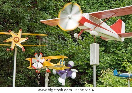 Plane house decoration
