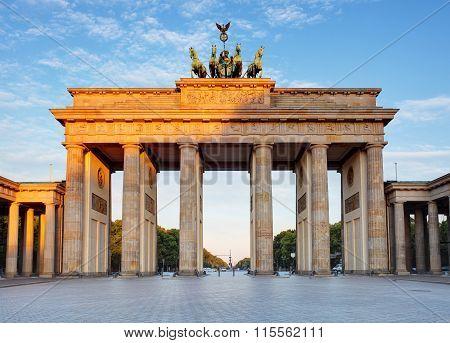 Brandenburg In Berlin, Capital Of Germany