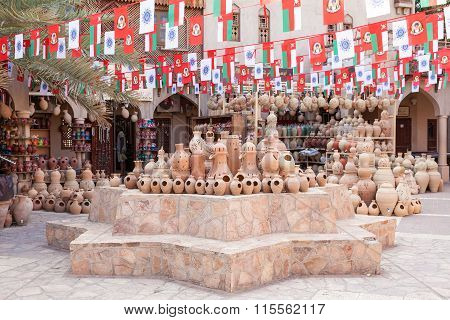 Ceramics Souk In Nizwa, Oman