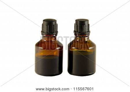 Two Bottles Of Iodine And Brilliant Green