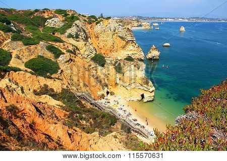 Praia Do Camilo, Lagos, Portugal