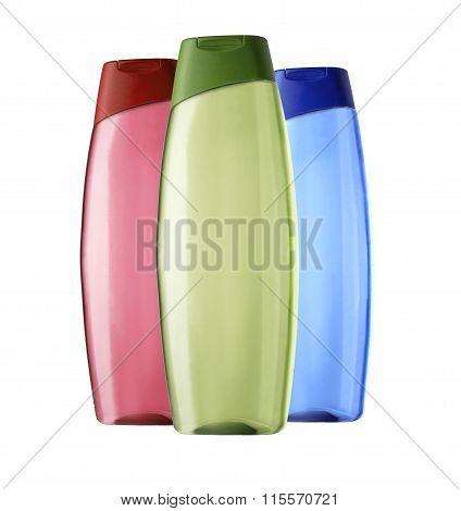 Plastic Bottles Shampoo