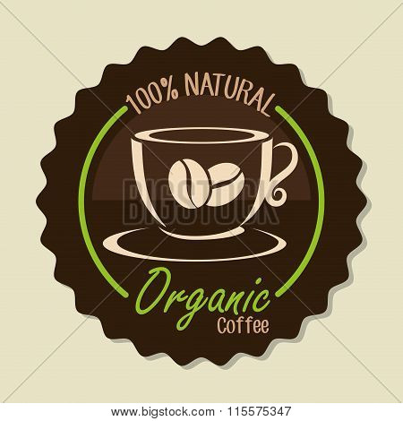Delicious natural and organic coffee
