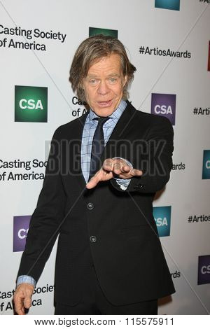 LOS ANGELES - JAN 21:  William H Macy at the 31st Annual Artios Awards at the Beverly Hilton Hotel on January 21, 2016 in Beverly Hills, CA