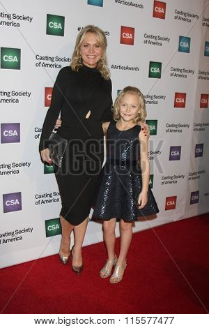 LOS ANGELES - JAN 21:  Barbara Alyn Woods, Alyvia Alyn Lind at the 31st Annual Artios Awards at the Beverly Hilton Hotel on January 21, 2016 in Beverly Hills, CA