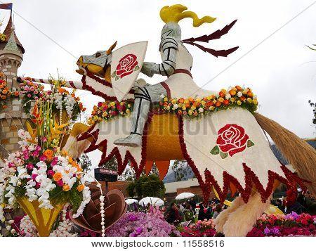 2011 Bayer Advanced Rose Parade float