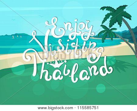 Enjoy visiting Thailand banner