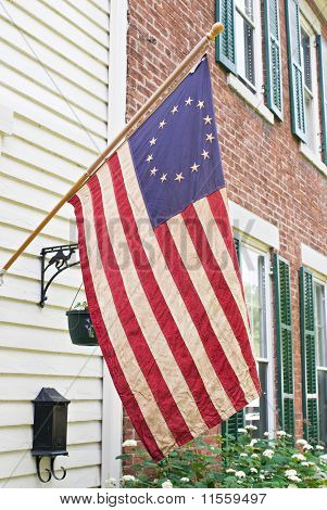 Antique Betsy Ross Flag