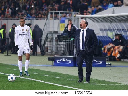 Real Madrid Coach Rafael Benitez