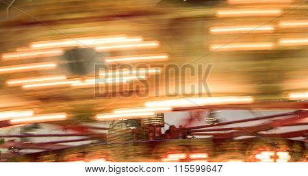 Motion Blur of Merry-Go-Round