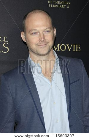 LOS ANGELES - JAN 21:  Sean Patrick Murphy at the Pride And Prejudice And Zombies Premiere at the Harmony Gold Theatre on January 21, 2016 in Los Angeles, CA
