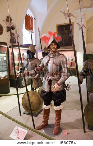 Medieval Knights In Armours