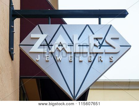 Zales Jewelers Exterior Sign And Logo