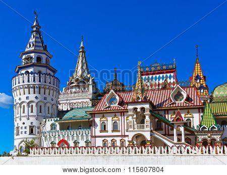 Izmailovo Kremlin - Moscow Russian - architecture background