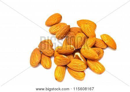 Almonds Close Up.