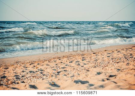 The Sea And Sandy Beach,   Filter