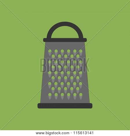 Kitchen Grater Vector Icon