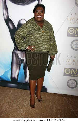 LOS ANGELES - JAN 23:  Sheryl Underwood at the 47th NAACP Image Awards Nominees Luncheon at the Beverly Hilton Hotel on January 23, 2016 in Beverly Hills, CA
