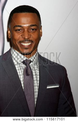 LOS ANGELES - JAN 23:  RonReaco Lee at the 47th NAACP Image Awards Nominees Luncheon at the Beverly Hilton Hotel on January 23, 2016 in Beverly Hills, CA
