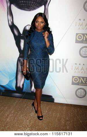 LOS ANGELES - JAN 23:  Naturi Naughton at the 47th NAACP Image Awards Nominees Luncheon at the Beverly Hilton Hotel on January 23, 2016 in Beverly Hills, CA