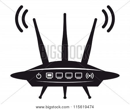 Wi fi router icon