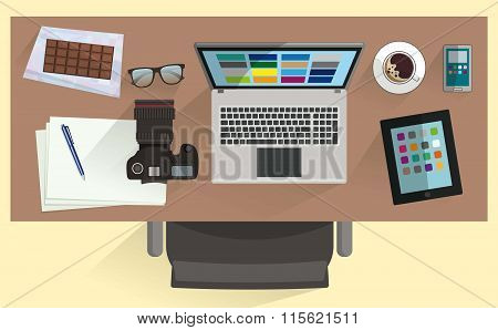 illustration of Workplace Designer