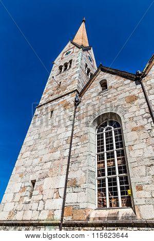 Evangelical Church-hallstatt,salzkammergut,austria