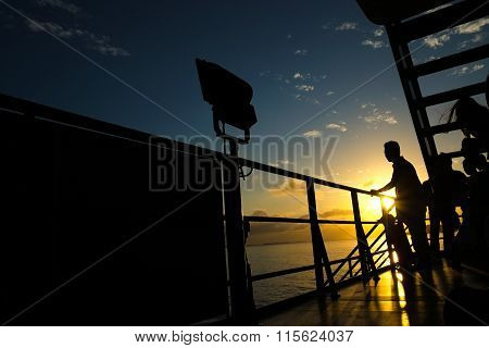 Morning cruise