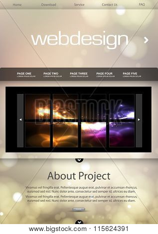 website template background easy all editable