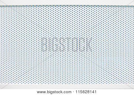 White Cellular Textured Grid Background