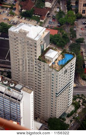 Aerial View Of Aparment