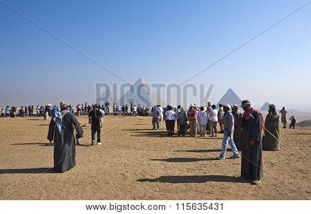 Giza pyramds