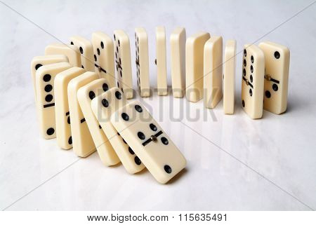 Group Of Domino Tiles