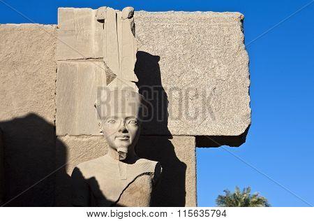 Karnak Ramses sculpture