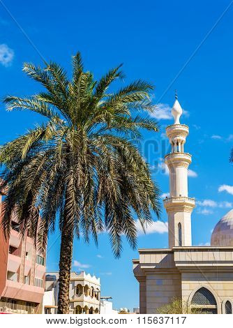 Mosque In Deira District Of Dubai - The Uae