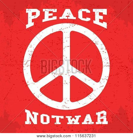 Vintage Peace Poster