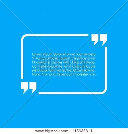 Quote text box