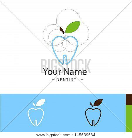 the sample logo for dental surgeries
