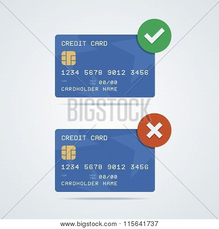 Credit, debit card with chip, number, cardholder name and expira