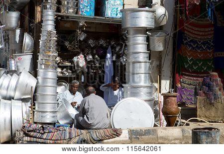 Egypt the Aswan market