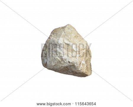 stones and rocks isolated on white background